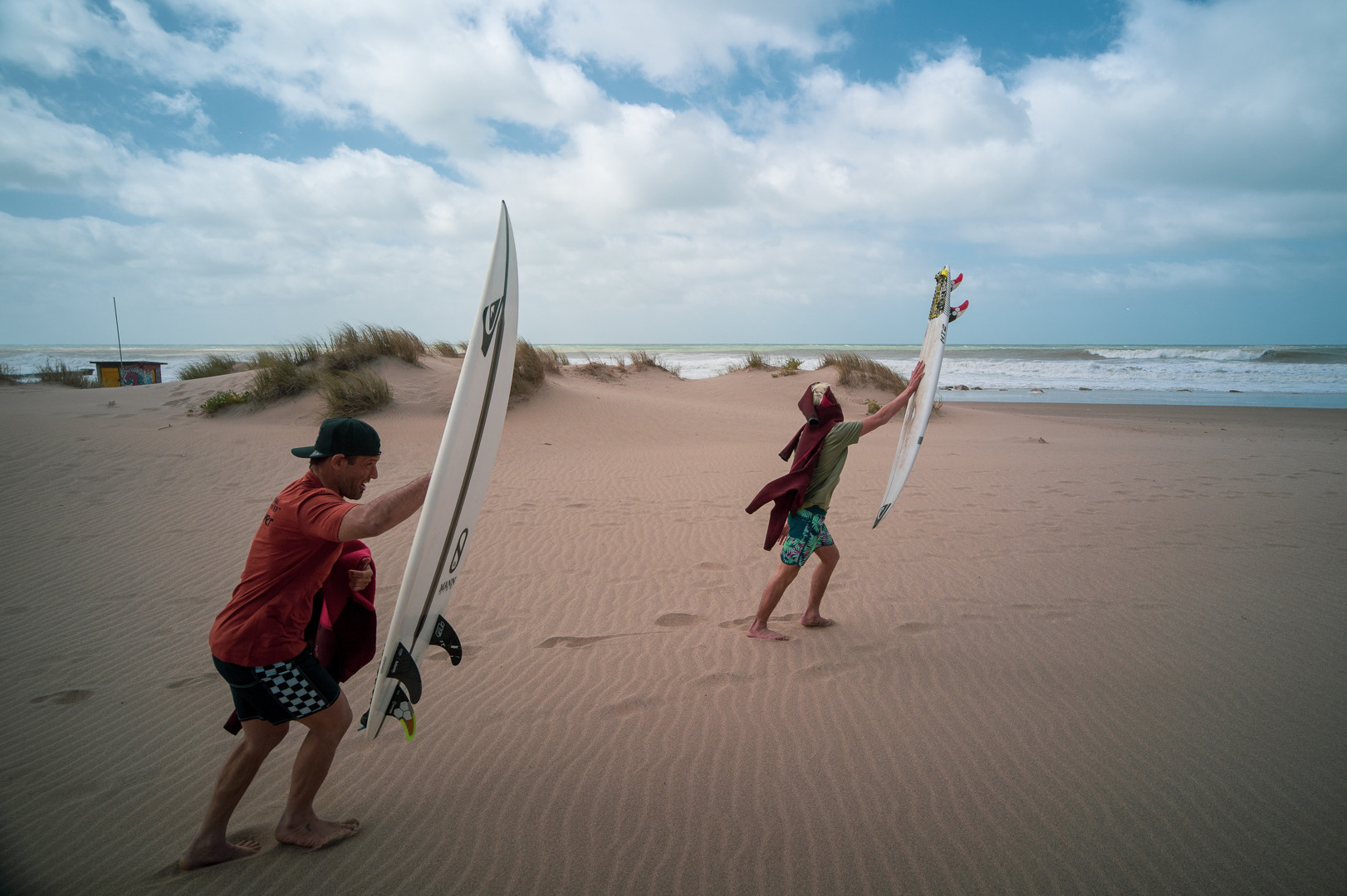 El surf se prepara para volver a competir: diversión con seriedad