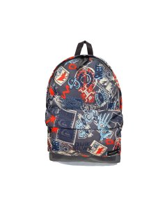 Mochila Quiksilver Everyday Poster (flame scarfet)