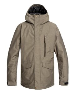 Campera Snow Quiksilver Mission (cre0)
