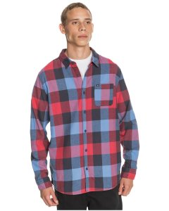 Camisa ML Motherfly Flannel (byp1) Quiksilver