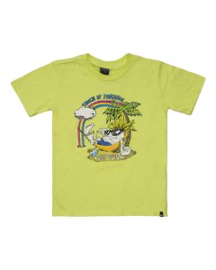 Remera Mc Wasting Time (Ver) Quiksilver Kids