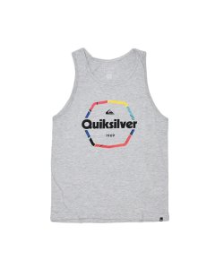 Musculosa Hard Wired (Gri) Quiksilver