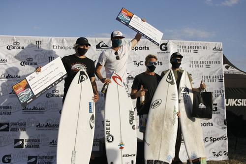 EL QUIKSILVER LA PALOMA 2020 CORONÓ AL NUEVO CAMPEÓN DEL CIRCUITO ARGENTINO DE SURF